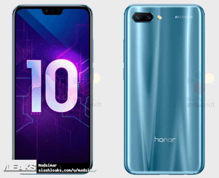 Honor 10 azul