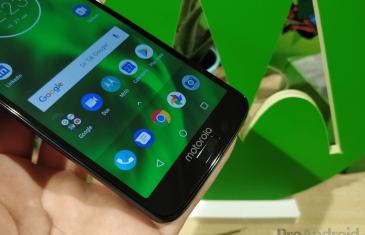 El Motorola Moto G6 Plus ya está actualizando a Android 9 Pie