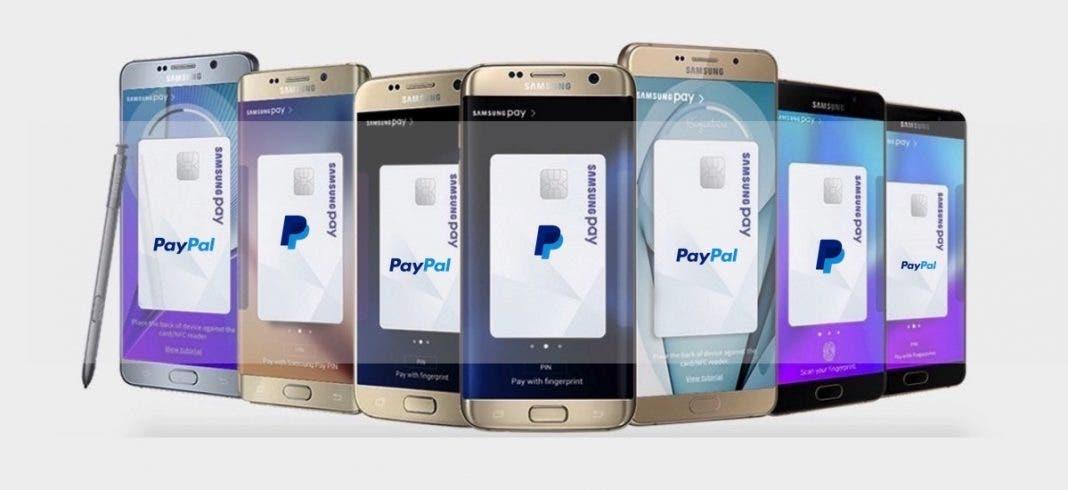 Modelos Samsung Pay