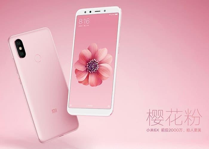 Habrá una versión del Xiaomi Mi 6X con 6 GB de RAM y 128 GB de almacenamiento