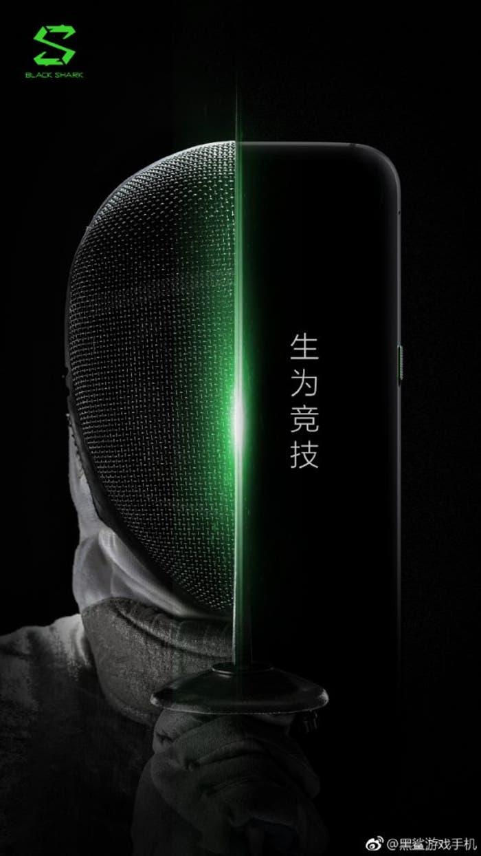 Xiaomi Blackshark: así es el diseño del móvil para jugar de Xiaomi