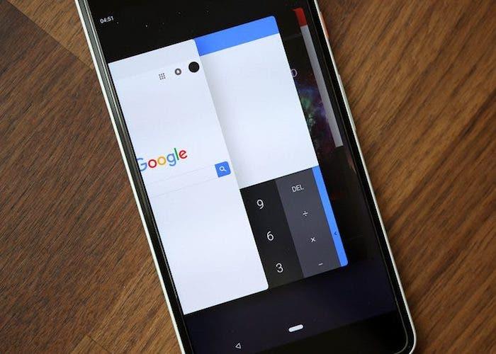 El menú de multitarea de Android P será muy parecido al de iOS 11