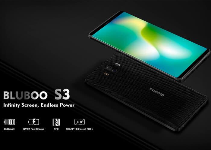 Bluboo S3: así es como sería un Galaxy S9 con una batería de 8500 mAh