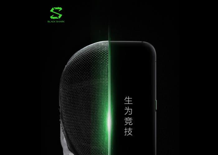 El Xiaomi Blackshark se filtra en una imagen real revelando su diseño gamer
