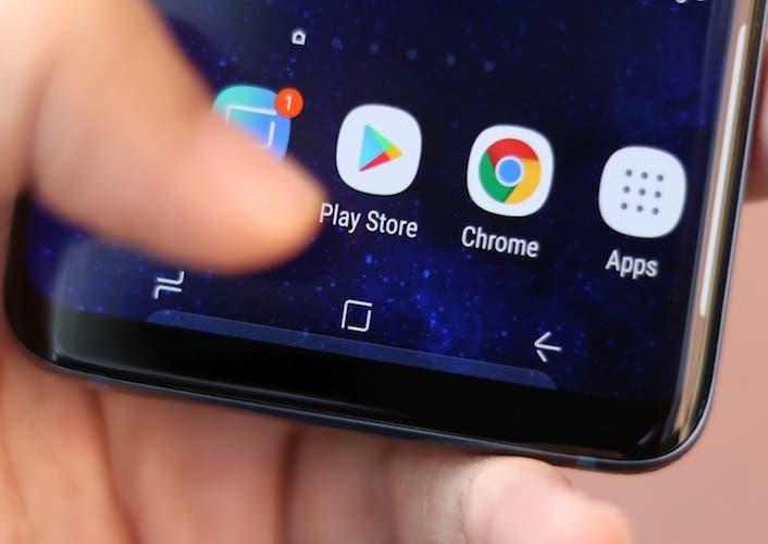 Cómo tener la barra de navegación del Samsung Galaxy S9 en cualquier smartphone