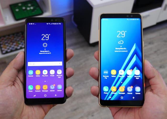 Samsung Galaxy A6 pantalla