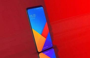 El diseño del Xiaomi Mi 8 confirmado oficialmente en un cartel promocional