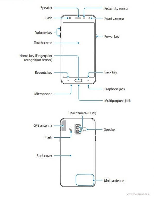 manual del samsung galaxy j7 de 2018