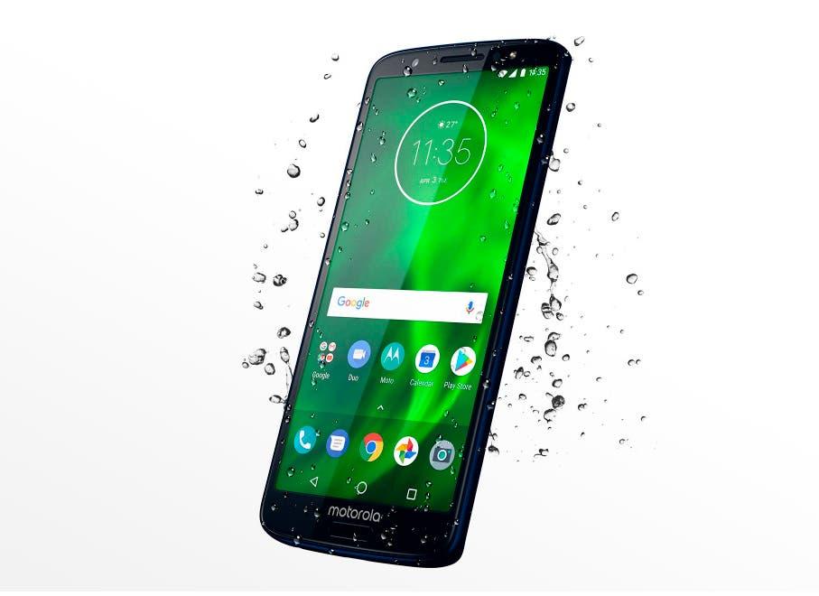 Motorola Moto G6 resisitente al agua