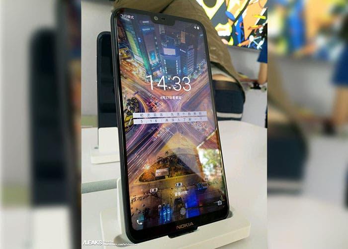 Nuevas imágenes reales del Nokia X6 confirman su diseño con Notch