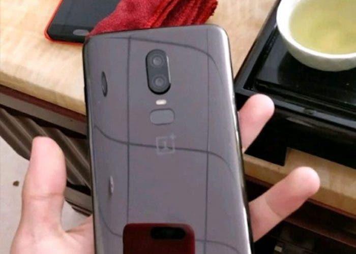 cámara del OnePlus 6