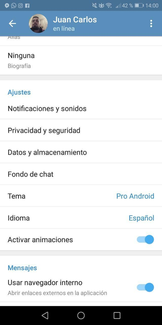 temas de telegram