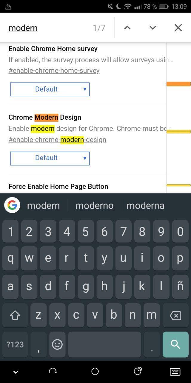 nuevo diseño de Google Chrome