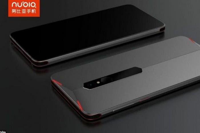 Nuevos detalles del diseño del móvil gamer de Nubia