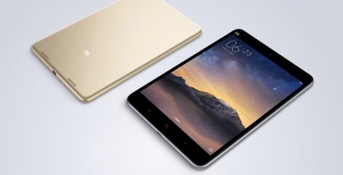 Xiaomi mi pad 3 diseño