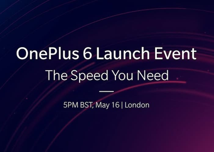 Cómo ver la presentación oficial del OnePlus 6 en el móvil