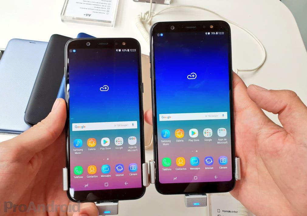Samsung Galaxy A6 y A6+ oficiales en España: precios y disponibilidad