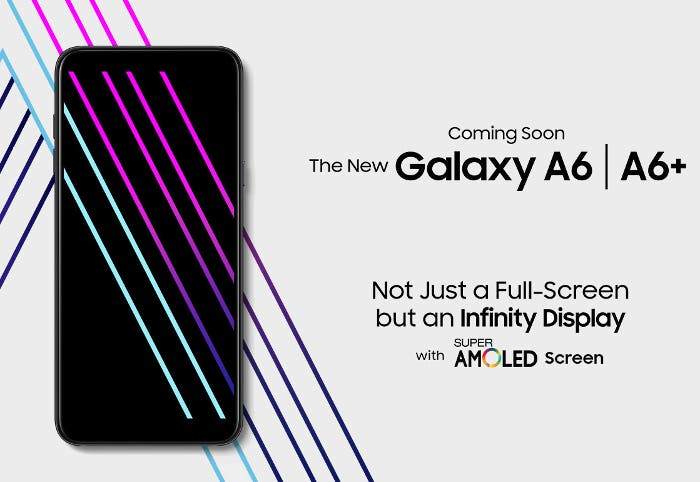 SAmsung Galaxy A6 oficial