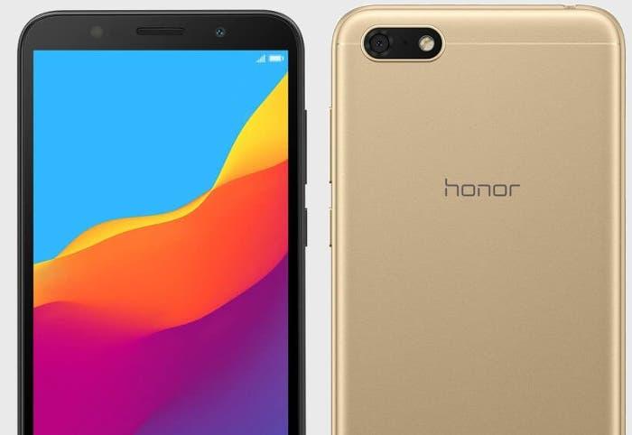Nuevo Honor 7S: presentado el móvil más básico de la compañía