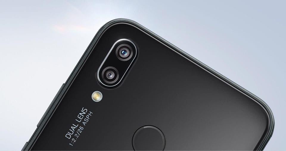 Huawei P20 Lite cámara