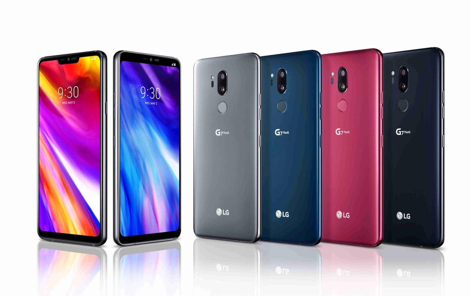 colores del LG G7 thingQ