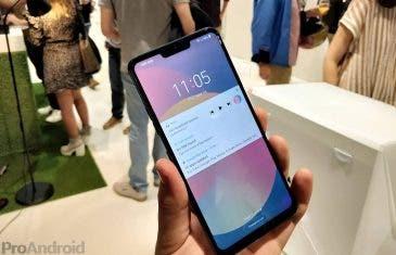 El LG G8 podría incluir un altavoz debajo de la pantalla
