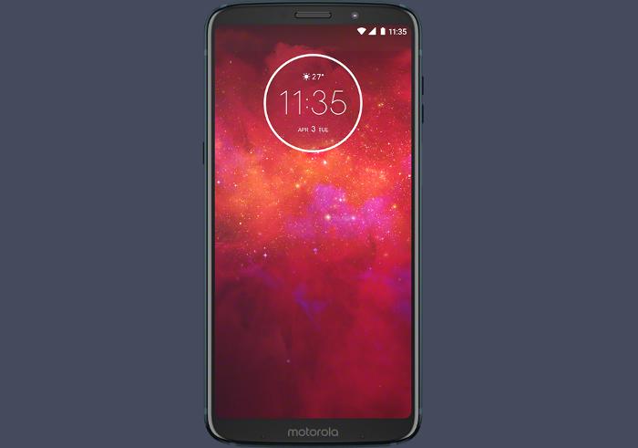 pantalla del Motorola Moto Z3 Play