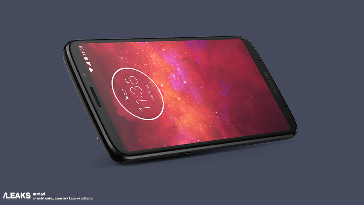 frontal del Motorola Moto Z3 Play