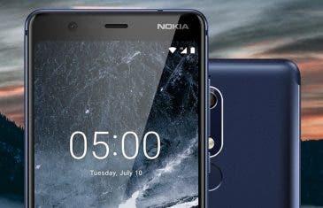 Nuevos Nokia 5.1 y Nokia 3.1: pantallas 18:9, procesadores MediaTek y precios bajos
