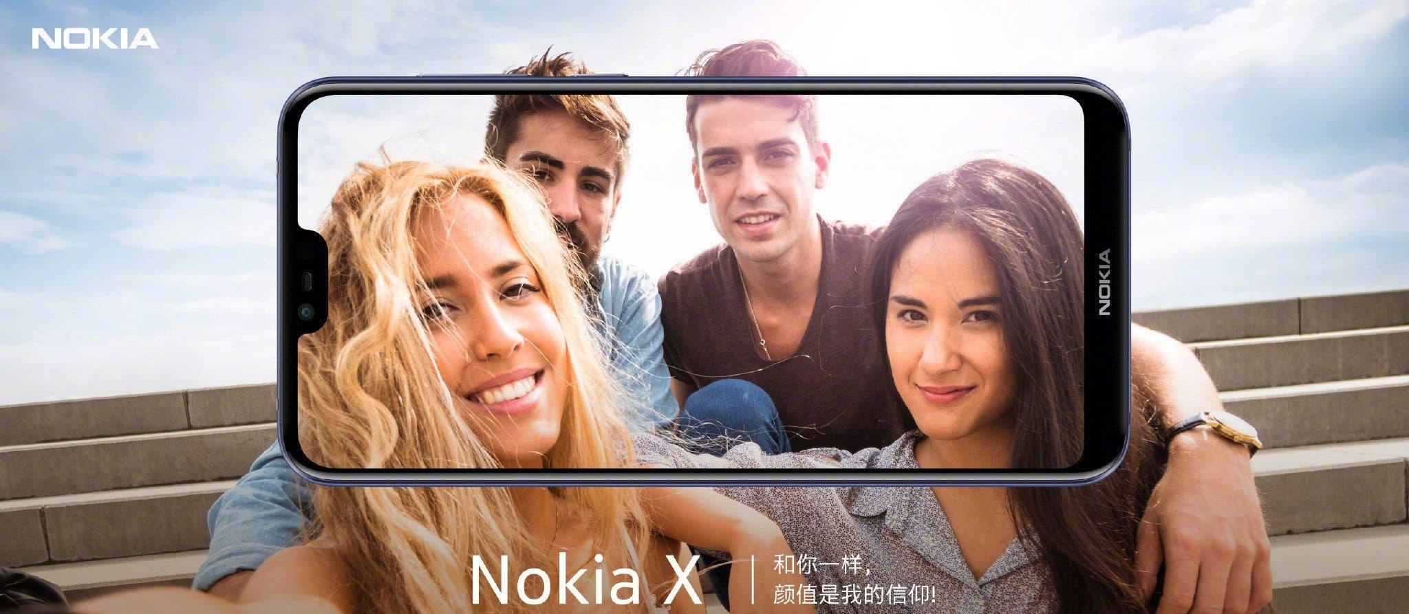 imagen promocional del nokia x6