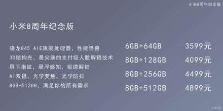precio del Xiaomi mi 8
