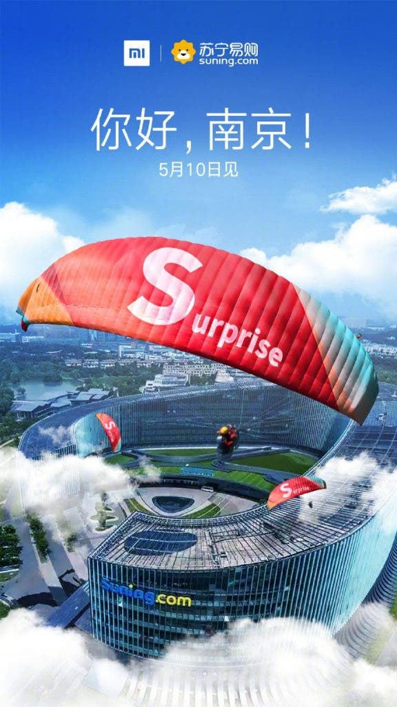 presentación del Xiaomi Redmi S2