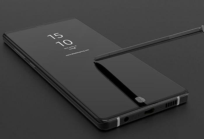 Nuevas filtraciones del Samsung Galaxy Note 9: nuevo S-Pen, colores y sensor de huellas