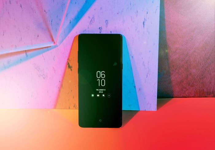Así se ve el Samsung Galaxy S10 con una pantalla que ocupa todo el frontal