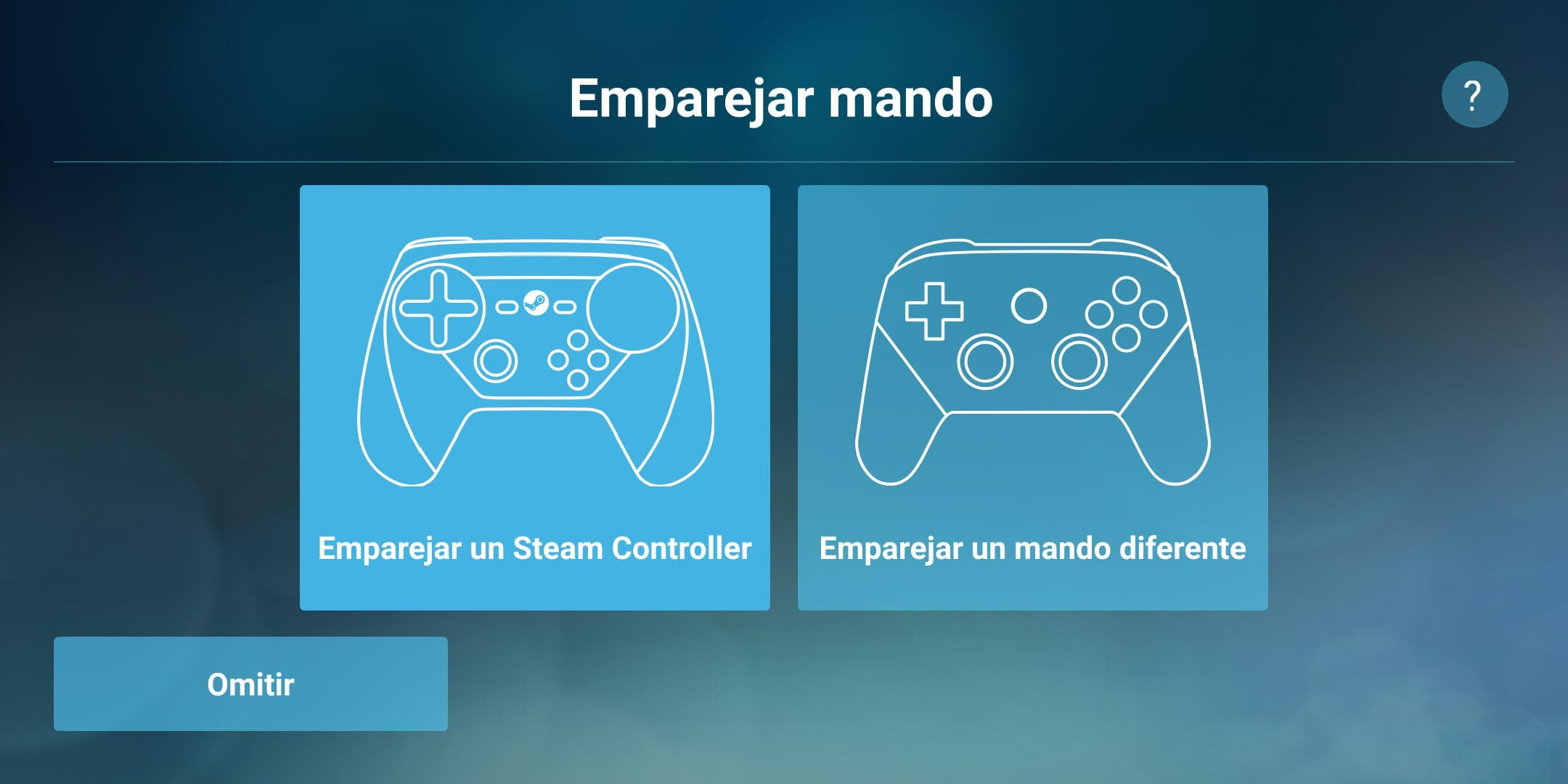 Gamepad Steam Link