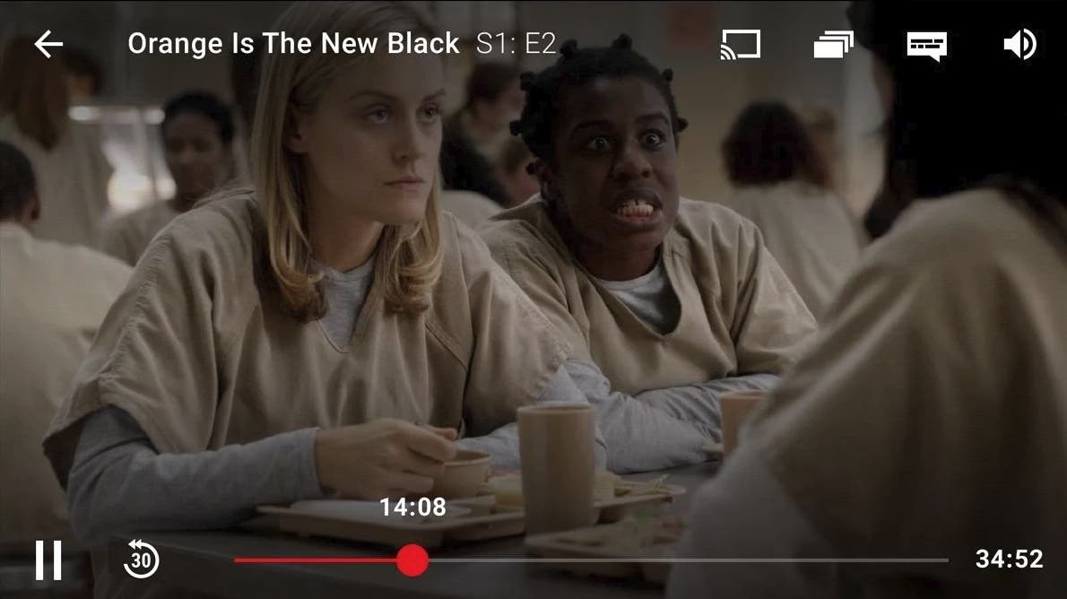 reproductor de Netflix