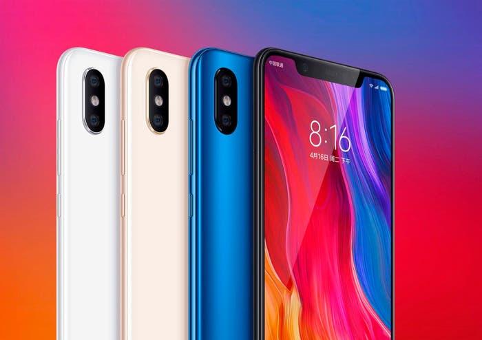 El Xiaomi Mi 8 es oficial: pantalla AMOLED, notch, doble GPS y mucho más