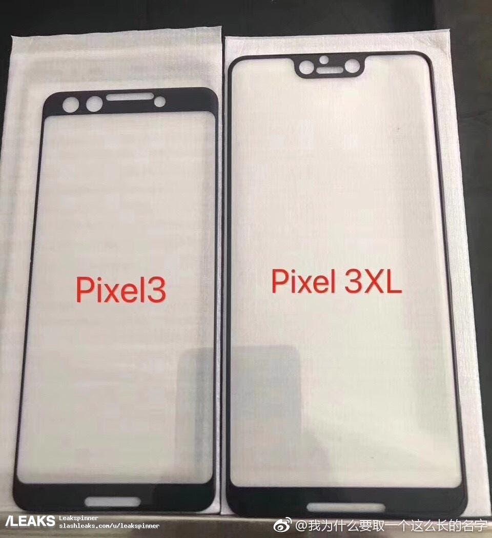 pantalla del pixel 3