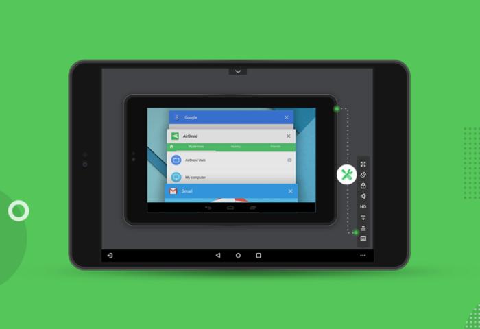 AirMirror: la nueva aplicación para controlar un móvil desde otro móvil