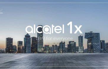 Pantallas 18:9 por debajo de los 100 euros: Alcatel 1, 1C y 1X