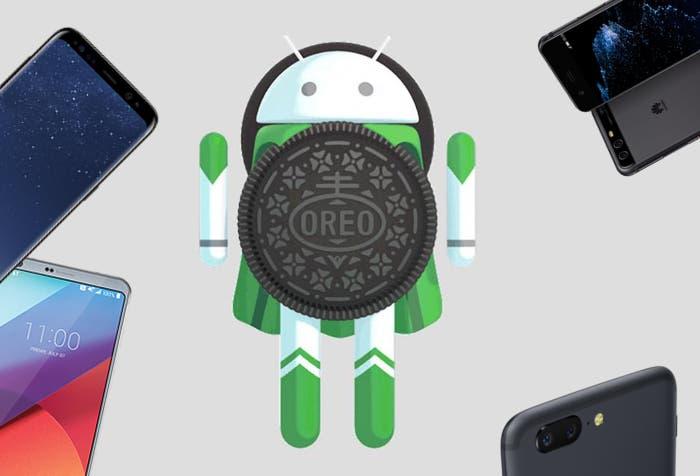 Android Oreo sigue estancado y ya crece más lento que Nougat en 2017