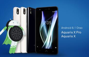Android 8.1 Oreo para el BQ Aquaris X y X Pro ya es una realidad