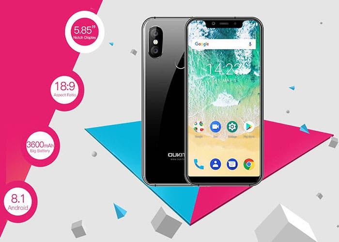 Oukitel presenta el Oukitel U19, un smartphone con diseño todo pantalla y Notch por menos de 100 euros