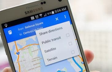 Google Maps se actualiza: control de música, rutas en tiempo real y transporte público