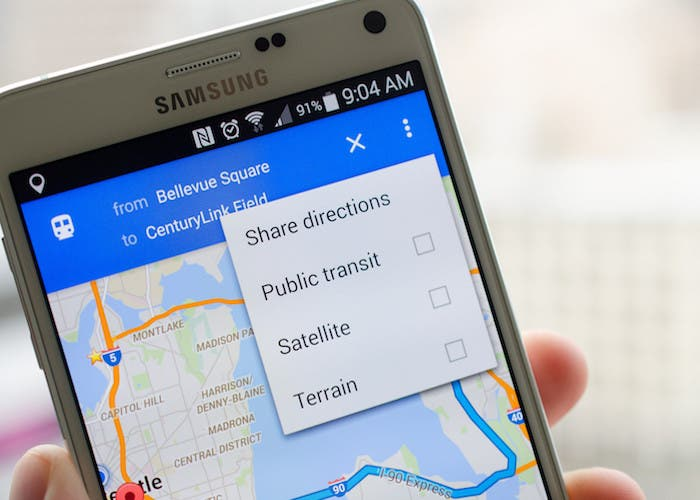 Ya disponible la nueva interfaz de Google Maps con Material Theme