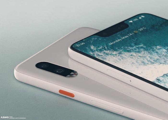 Nuevos renders del Google Pixel 3 y 3 XL aparecen con diseños parecidos a los del iPhone X