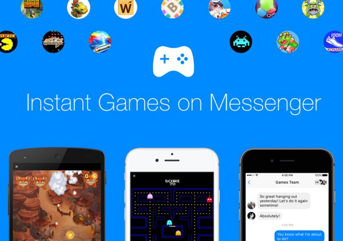 Los juegos de Facebook Messenger ya no serán totalmente gratis
