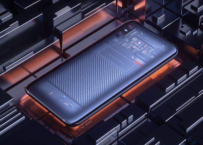 La trasera transparente del Xiaomi Mi 8 Explorer resulta ser falsa