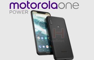 Filtradas las características del Motorola One Power: el primero con notch