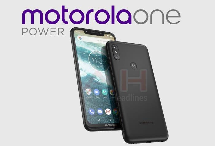 Se filtran todas las características del Motorola One Power: será un móvil de gama media